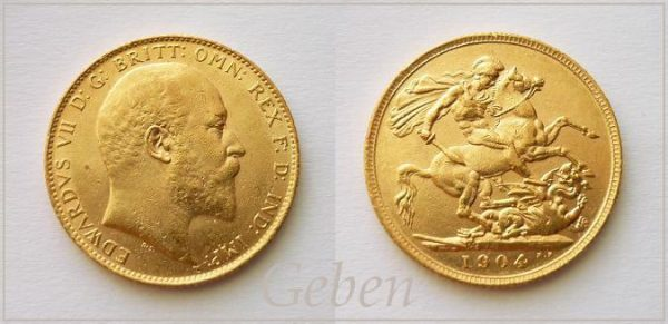 Sovereign 1904 Edward VII.