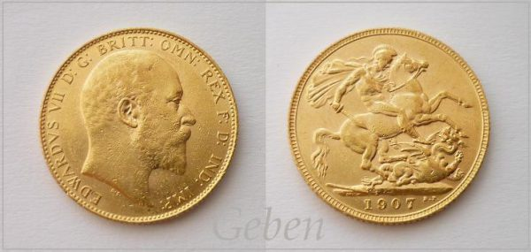 Sovereign 1907 Edward VII.