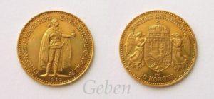10 Koruna 1912 K.B.