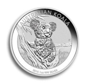 Stříbrná investiční mince Australia KOALA 1 Oz 2015