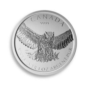 Stříbrná investiční mince Birds Of Prey 1 Oz 2015