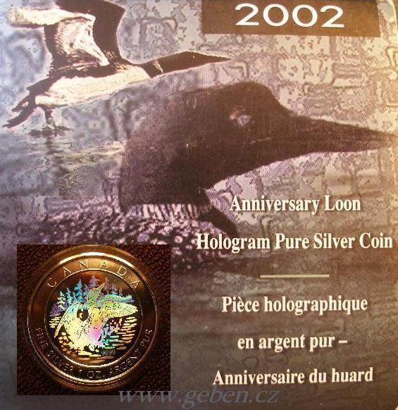 5 dollars 2002 č. 664 ! HOLOGRAM