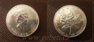 5 Dollars 1991 - Maple Leaf