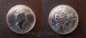 5 Dollars 1999 - Maple Leaf