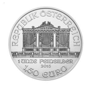 Stříbrná investiční 1 Oz Wiener Philharmoniker 2012