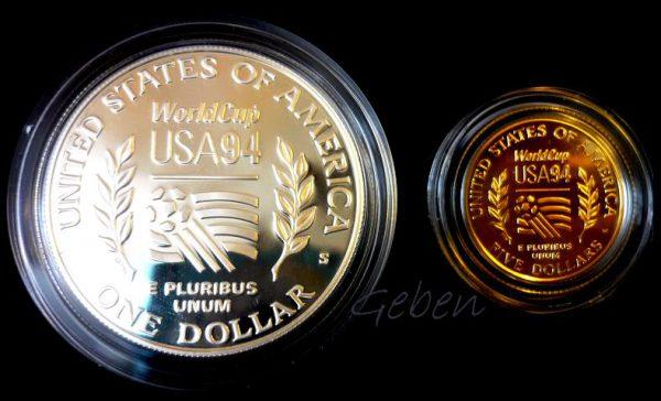 5 Dollars FOTBAL Luxusní sada USA