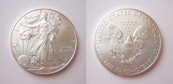 Stříbrná investiční mince Liberty - American Eagel 1 Oz