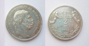 2 Korona 1913 K.B.