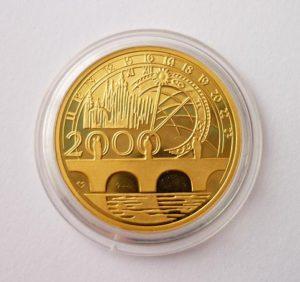 2 Dukát 2000 Komerční Banka