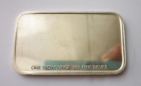 Stříbrný slitek 1 Oz Sharps Carbine