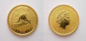 15 Dollars Kangaroo 2003 + dárek ANZAC Dollar