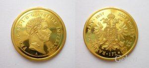 František Josef I. 150 let Decimální měny