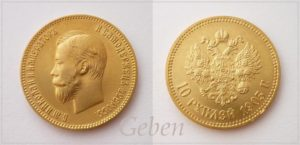 10 RUBL 1903 Mikuláš II.