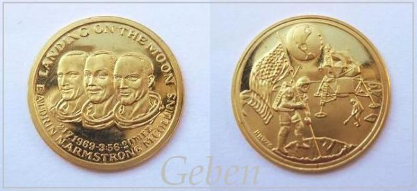 Apollo 11 Zlatá medaile 1969