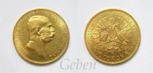 10 Koruna 1908 Jubilejní