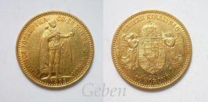 10 Koruna 1903 K.B.