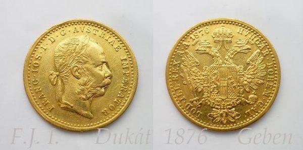 Dukát 1876