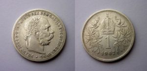 1 Koruna 1907 ! Vzácná R