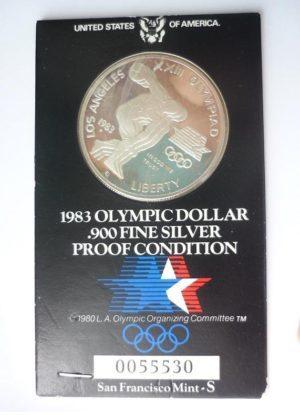 USA – Los Angeles 1984 Olympic Dollar – PROOF