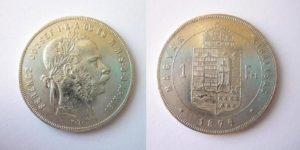 Zlatník Forint 1874 K.B. !