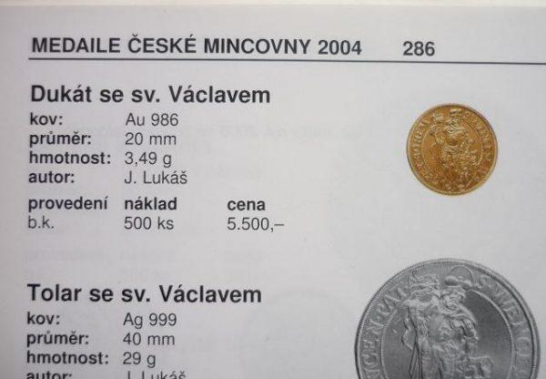 Dukát sv. Václav