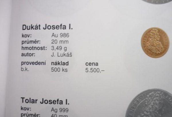 Dukát Josefa I.