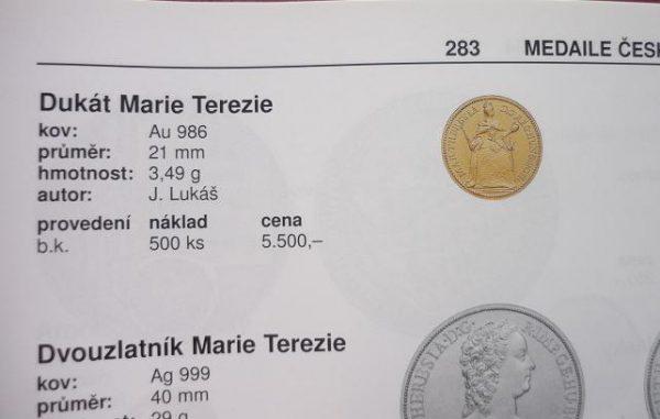 Dukát Marie Terezie
