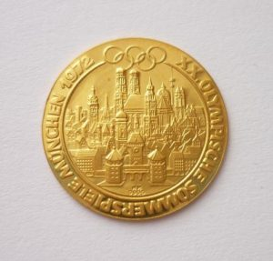 Zlatá medaile OH Mnichov 1972 - 1/10 Oz