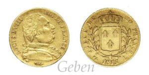 20 Frank 1815 L - Louis XVIII.