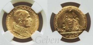 100 Lira 1948 Pius XII.