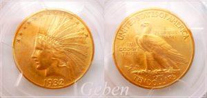 10 Dollars 1932 Indian Head - Eagle