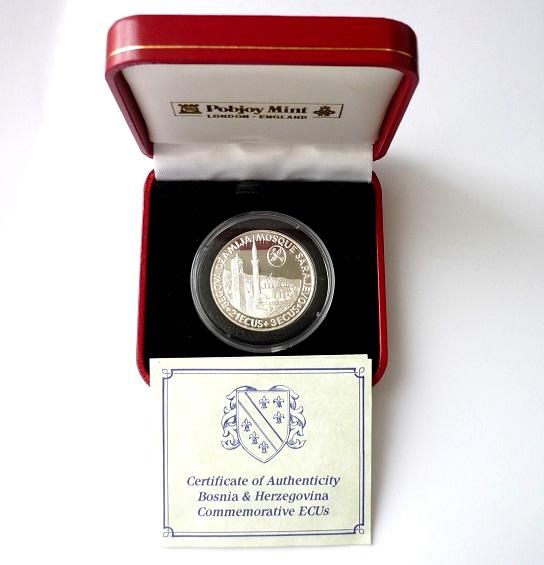 ECU - Bosna a Hercegovina 1993 1/2 Oz