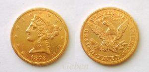 5 Dollars Liberty 1878