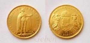 20 Koruna 1911 K.B. Nejlepší ročník R