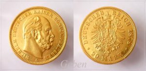 20 Mark 1878 A Wilhelm I.