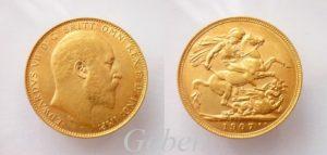 Sovereign 1907 Edward VII.
