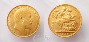 Sovereign 1909 Edward VII.