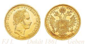 Dukat 1861 A