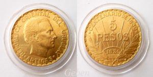 5 Pesos 1930 Uruguay - Artigas