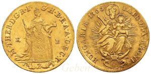 2 Dukát 1765 KB Marie Terezie