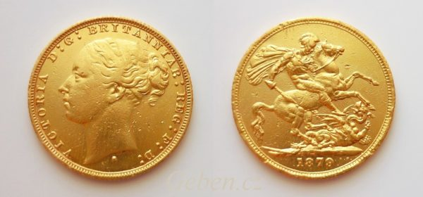 Sovereign 1879