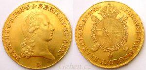Sovráno - Souverain d'or 1795 B František II..