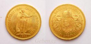 10 Koruna 1892 KB
