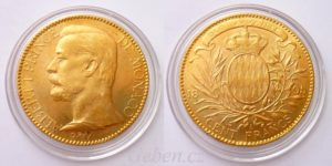 100 Frank 1895A Monaco