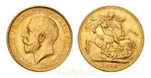 Sovereign 1918 INDIE ! Král Jiří