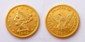 2 1/2 Dollars 1903 Coronet Head – Quarter Eagle