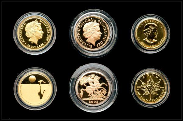 Icons of the Commonwealth 2008 - Nádherná zlatá sada