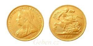 Half Sovereign 1901 - Victoria