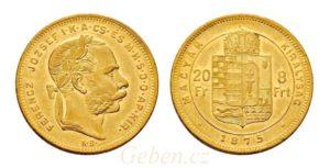 8 Zlatník - 8 Forint 1875 KB