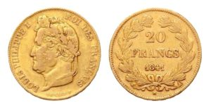 20 Frank 1841 A - Louis Philippe I.